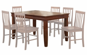 60 Inch Dining Table in Brown - TW60FBR