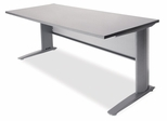 60 Inch Metal Training Table - MTT6024