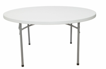 "60"" Round Folding Table - National Public Seating - BT-60R"