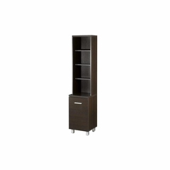 60'' Tall Storage & Audio Tower with 4 Shelves - Nexera Furniture