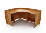 "60"" x 47"" Corner Desk - Legare Furniture - CDAO-120"
