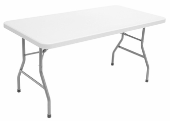 "60""x30"" Blow Mold Folding Table - FTDB3060"