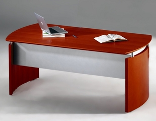 63 Inch Desk in Sierra Cherry - Mayline Office Furniture - ND63CRY
