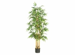"64"" Bamboo Silk Tree in Green - Nearly Natural - 5253"