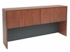 66 Inch Hutch with Tackboard and Task Light - Legacy Laminate - L66HK