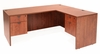 66 Inch L-Shaped Desk - Legacy Laminate - LLD6630
