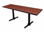 "66""x24"" Cain Rectangular Training Table - ROF-MTRCT6624"