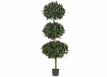 "69"" Sweet Bay Triple Ball Tree - Nearly Natural - 5313"