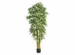 7' Big Bamboo Silk Tree in Green - Nearly Natural - 5191