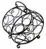 7 Bottle Circular Wine Rack - Pangaea Home and Garden Furniture - BT-W060-K