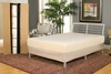 "7"" Complete Bed To Go Twin Size - Easy Assembly - No Tools"