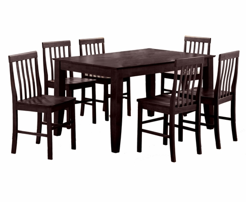 7-Piece Dining Set in Espresso - C60S2ES