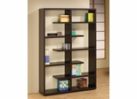 "71"" Bookshelf in Cappuccino - 800297"