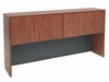 71 Inch Hutch with Tackboard and Task Light - Legacy Laminate - L71HK