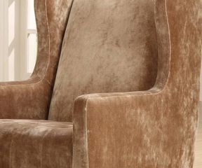7117 Madera Club Chair in Brown - Armen Living - LC7117FABR