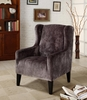 7117 Madera Club Chair in Gray - Armen Living - LC7117FAGR