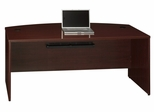 "72"" Bow Front Shell - Quantum Harvest Cherry Collection - Bush Office Furniture - QT0725CS"