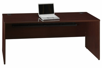 "72"" Credenza Shell - Quantum Harvest Cherry Collection - Bush Office Furniture - QT4725CS"