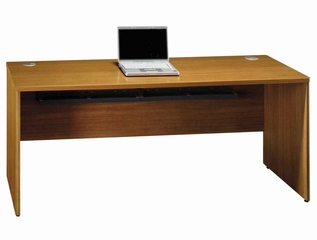 "72"" Credenza Shell - Quantum Modern Cherry Collection - Bush Office Furniture - QT4725MC"