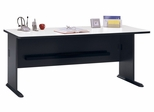 "72"" Desk - Series A Slate Collection - Bush Office Furniture - WC84872"