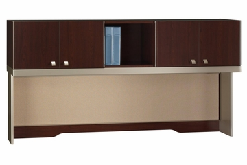 "72"" Hutch - Quantum Harvest Cherry Collection - Bush Office Furniture - QT1726CSK"