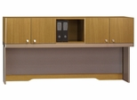 "72"" Hutch - Quantum Modern Cherry Collection - Bush Office Furniture - QT1726MCK"