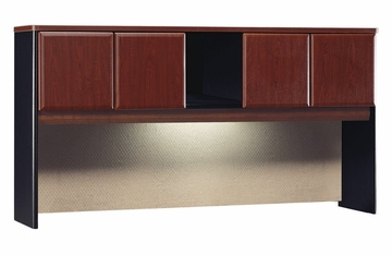 "72"" Hutch - Series A Hansen Cherry Collection - Bush Office Furniture - WC94473"