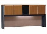 "72"" Hutch - Series A Natural Cherry Collection - Bush Office Furniture - WC57473"