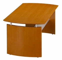 72 Inch Desk in Golden Cherry - Mayline Office Furniture - ND72GCH
