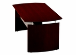 72 Inch Desk in Mahogany - Mayline Office Furniture - ND72MAH