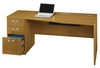 "72"" Left Hand Desk with Pedestal - Quantum Modern Cherry Collection - Bush Office Furniture - QT0736MCK"