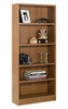 "72"" Tall Bookcase in Cappuccino - Essentials Collection - Nexera Furniture - 731208"