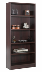 "72"" Tall Bookcase in Mahogany - Essentials Collection - Nexera Furniture - 731202"