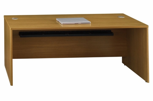 72 x 30 Desk Shell - Quantum Modern Cherry Collection - Bush Office Furniture - QT0705MC