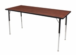 "72""x24"" Adjustable Leg Activity Table - ROF-ACT7224"