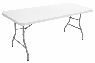 "72""x30"" Blow Mold Folding Table - FTDB3072"