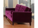 725 Centennial Loveseat in Purple Velvet - Armen Living - LC7252PU