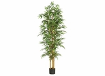"75"" Bamboo Silk Tree in Green - Nearly Natural - 5254"