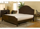 "8"" Black Diamond Eastern King Size Memory Foam Mattress"