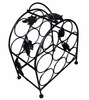 8 Bottle Wine Rack with Grape Vines - Pangaea Home and Garden Furniture - BT-W058-K