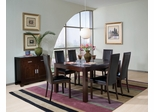 8-Piece Dining Room Furniture Set in Cappuccino - Coaster