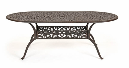84 Inch Oval Dining Table - Florence - Caluco - 777-B