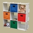 9 Cubby Storage Shelving in White - RiverRidge - 02-033