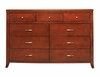 9 Drawer Dresser - Brighton - Modus Furniture - BR1582