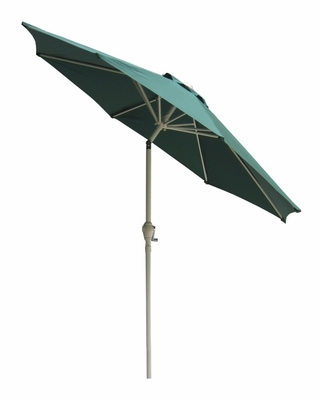 9' Market Umbrella with Steel Pole in Hunter Green / Almond - 53720