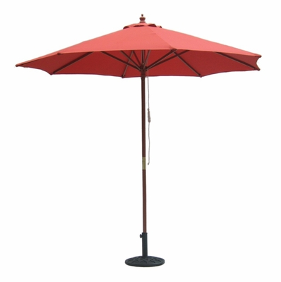 9' Outdoor Market Umbrella in Autumn Red - 51876