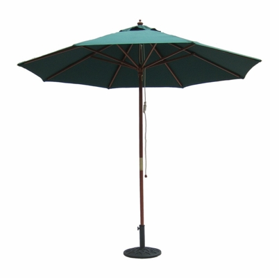 9' Outdoor Market Umbrella in Hunter Green - 49163