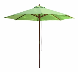 9' Outdoor Market Umbrella in Lime Green - 53751