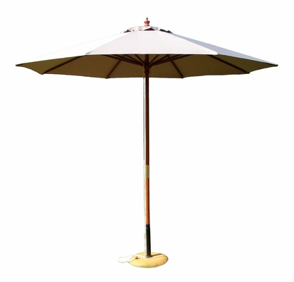 9' Outdoor Market Umbrella in Natural - 49147