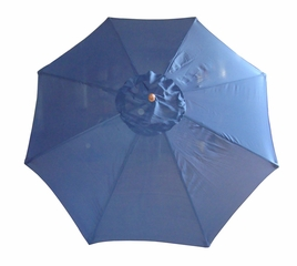 9' Outdoor Market Umbrella in Navy Blue - 49152